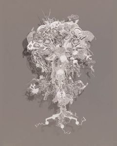 Bovey Lee - Rice paper Cut-out